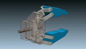 3D Models: Robot Gripper Mechanism