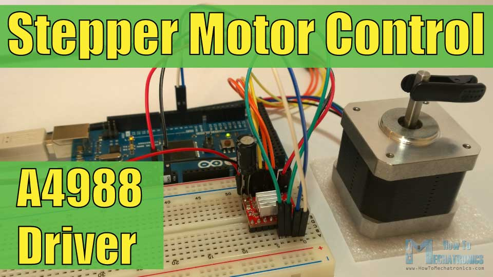 Fabulous How To Control Stepper Motor With A4988 Driver And Arduino Wiring 101 Capemaxxcnl