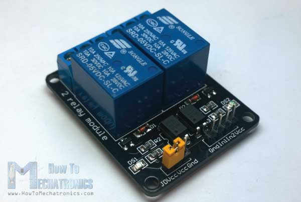 Arduino and Relay Wiring