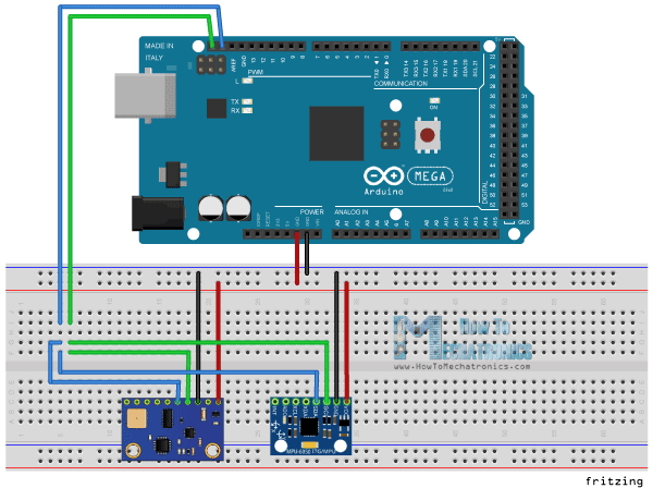 I2C-and-Arduino-Circuit-Schematics