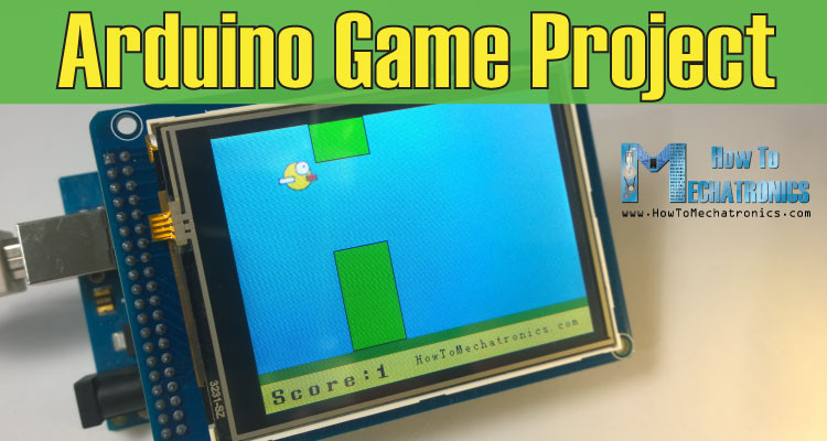 Arduino-Game-Project--Replica-of-Flappy-Bird
