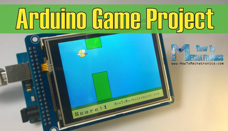 Arduino Game Project - Replica of Flappy Bird for Arduino