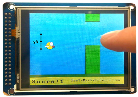 Birduino---Arduino-Game-Project-Bird