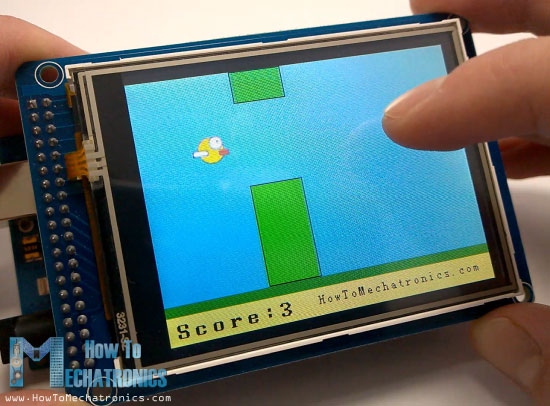 Birduino---Arduino-Game-Project-Example1