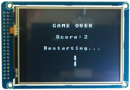 Birduino---Arduino-Game-Project-Game-Over