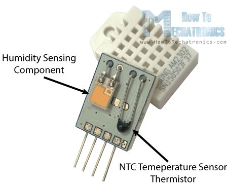 dht11 & dht22 sensor temperature and humidity tutorial  dht11 ddht22 working principle