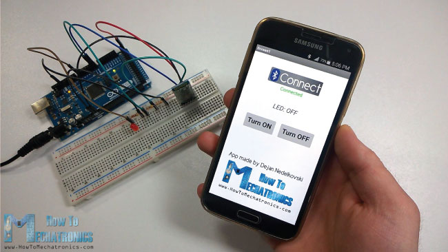 Arduino and Android Bluetooth App