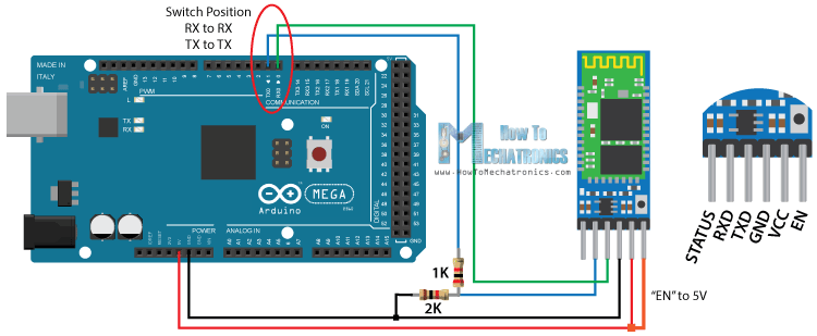 How To Configure and Pair Two HC-05 Bluetooth Modules as