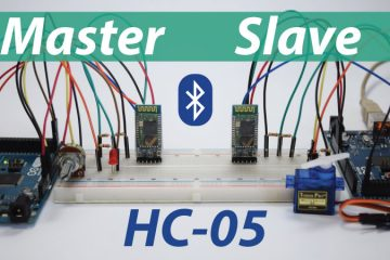How To Configure and Pair Two HC-05 Bluetooth Module as Master and Slave Tutorial