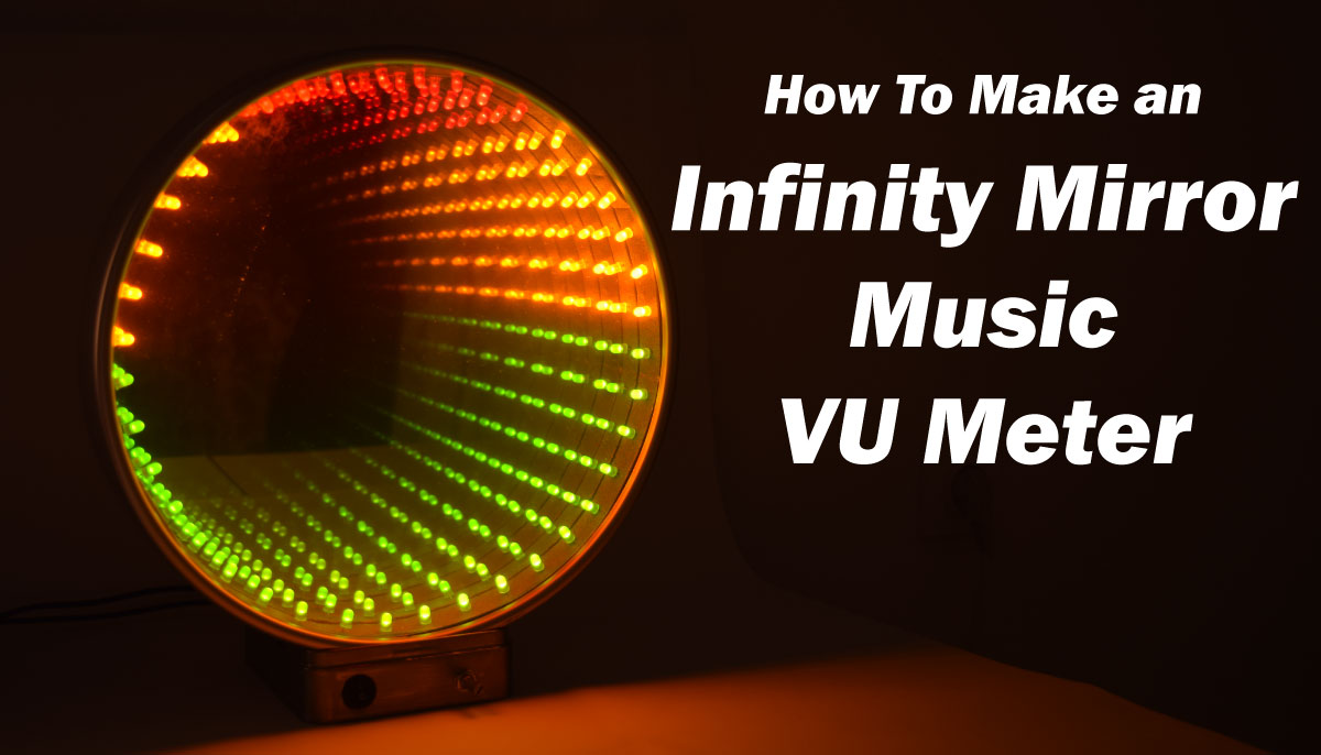 Infinity Mirror Music Vu Meter Electronics Project Using Lm3915 Ic Digital Alarm Clock Circuit Diagram Basiccircuit Howtomechatronics