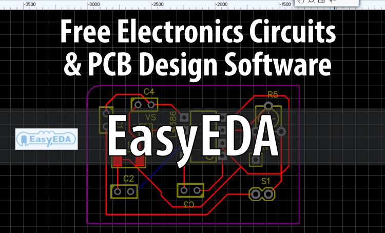 easyeda free electronics circuit \u0026 pcb design simulationeasyeda free electronics circuit \u0026 pcb design simulation software review howtomechatronics
