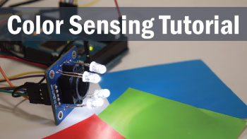 Arduino Color Sensing Tutorial TCS230 Color Sensor