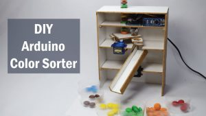 Arduino Color Sorter Project - Color Sorting Machine