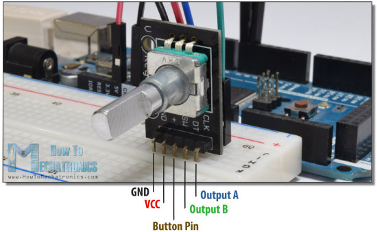 Rotary Encoder Arduino Tutorial Example
