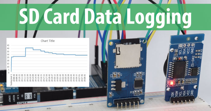 Arduino SD Card and Data Logging to Excel Tutorial arduino sd card and data logging to excel tutorial howtomechatronics