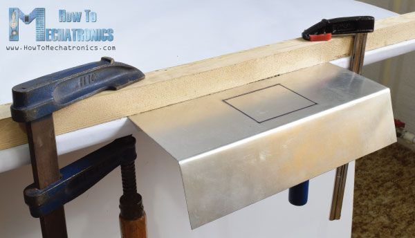 Bending Sheet Metal without Press Machine