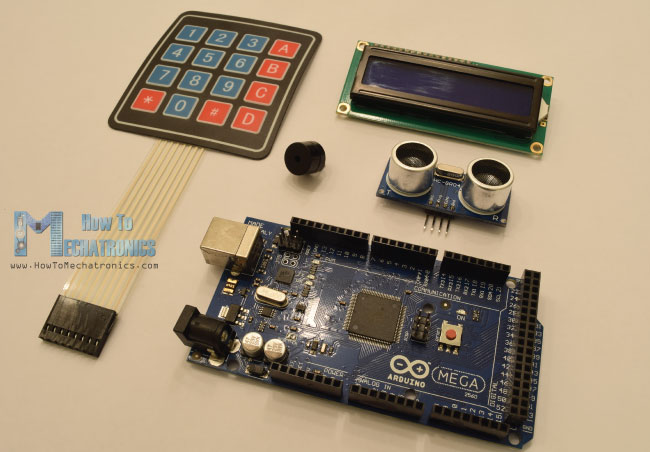 Arduino Security and Alarm System Project - HowToMechatronics