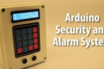 Arduino Security and Alarm System Project Photo
