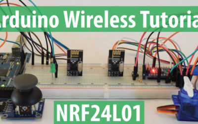 Arduino Wireless Communication - NRF24L01 Tutorial
