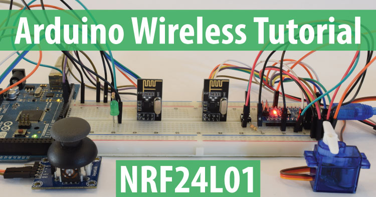 Arduino Wireless Communication - NRF24L01 Tutorial - HowToMechatronics