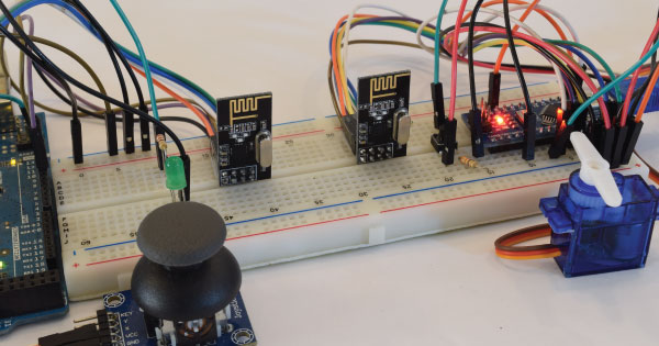 Arduino and NRF24L01 Tutorial Example 2