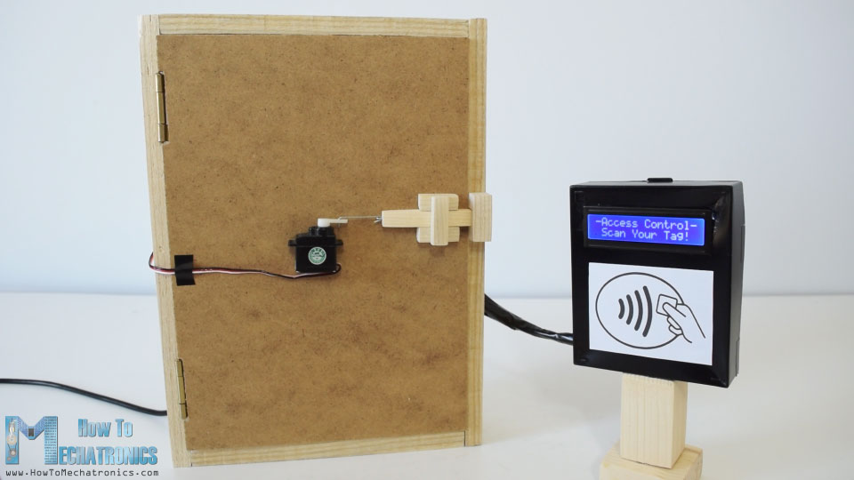 Arduino RFID Door Lock Access Control Project