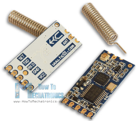 HC-12 Wireless Serial Communication Module
