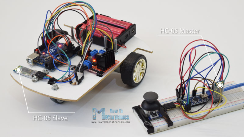 Arduino Robot Car HC-05 Bluetooth Control