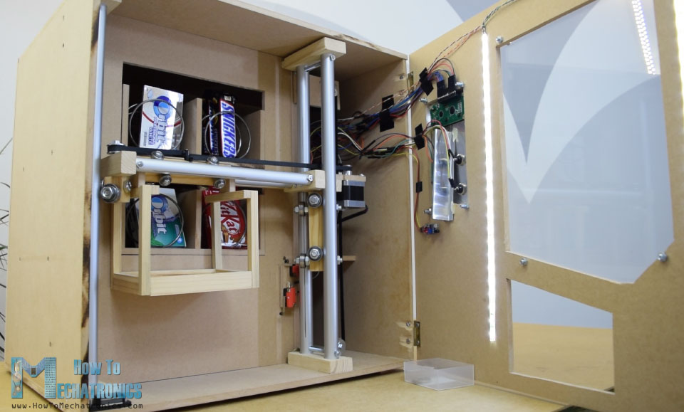Arduino Vending Machine with carrier system