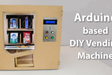 DIY Vending Machine - Arduino based Mechatronics Project Featured