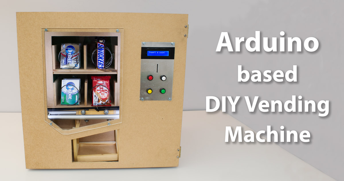 Diy vending machine arduino based mechatronics project solutioingenieria Images