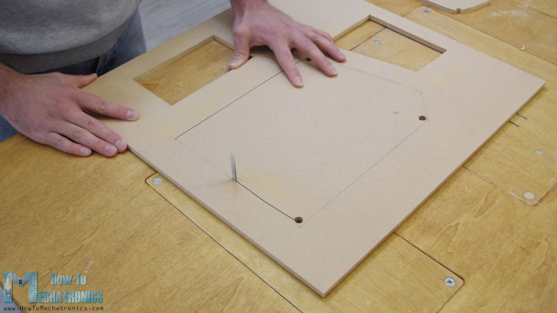 Making openings using a Jigsaw