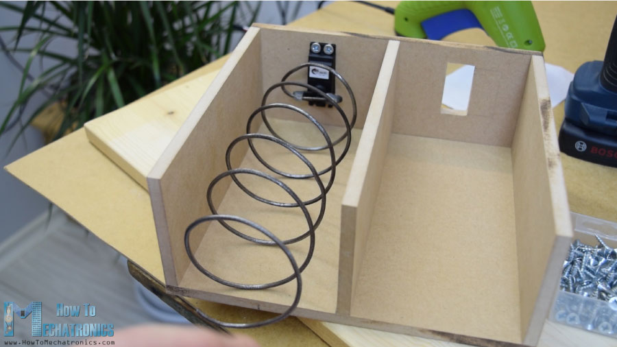diy helical coil for vending machine