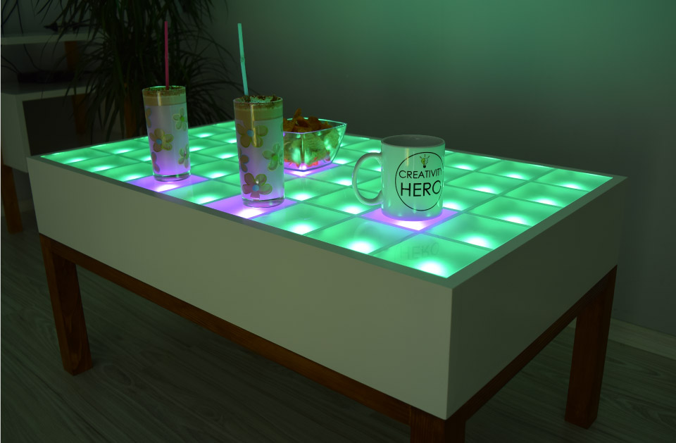 Creativity Hero Interactive-LED-coffe-table