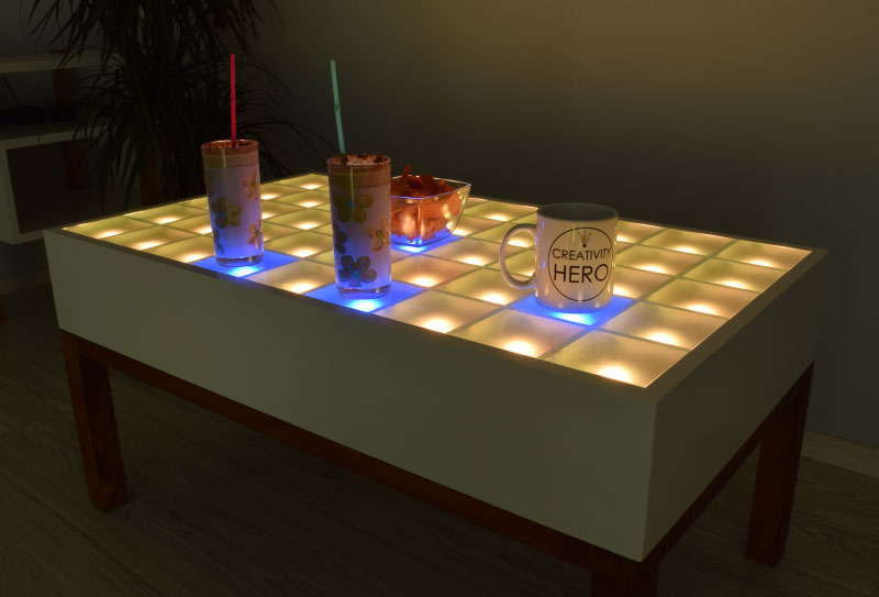 Creativity Hero LED Table