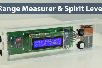 Arduino Range Measurer and Digital Spirit Level Project