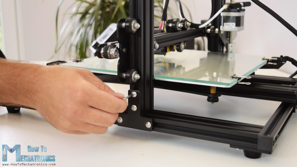 Assembling Creality CR-10 3D Printer