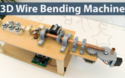 Arduino 3D Wire Bending Machine Project