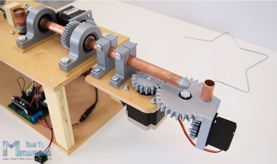 Star shape - DIY Wire bending machine
