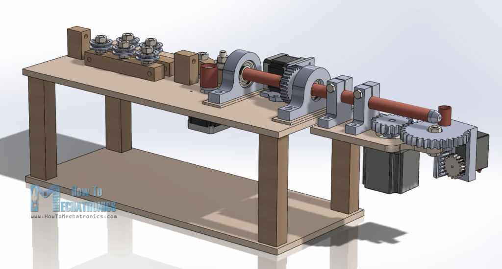 Wire Bending Machine 3D Model