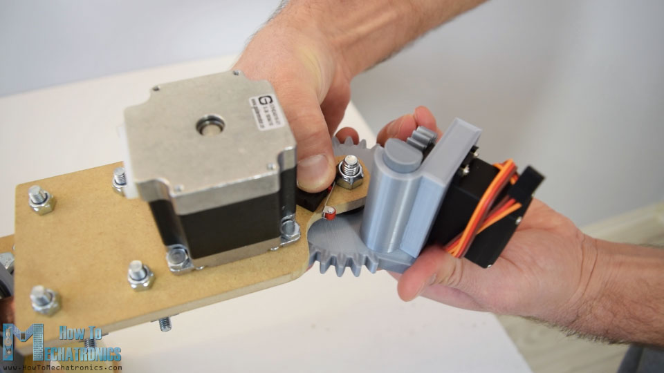 mirco limit switch for the bender initial position