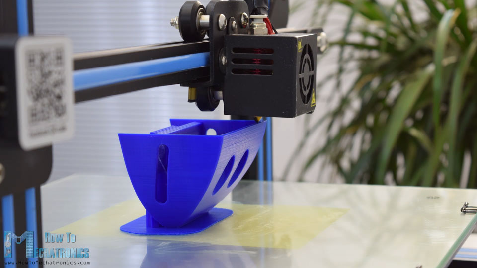 Creality CR-10 printing 60 degrees overhang angle