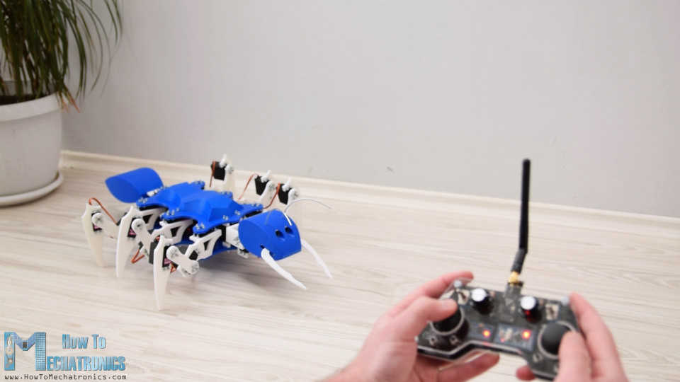 Arduino RC Transmitter - Ant Robot wireless control