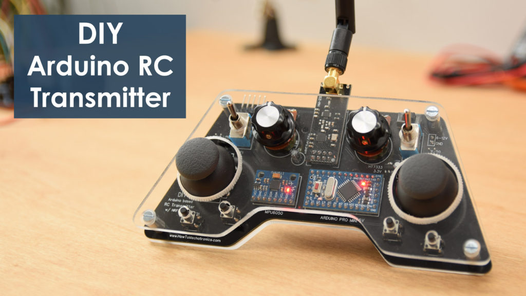 DIY Arduino based RC Transmitter