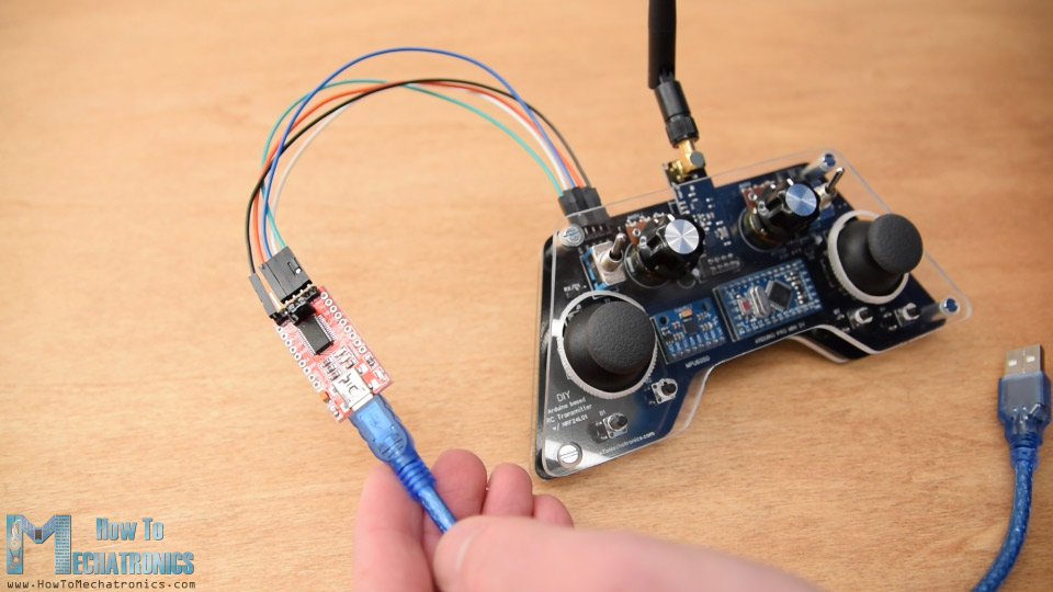 Programming Arduino Pro Mini using an USB to serial UART interface