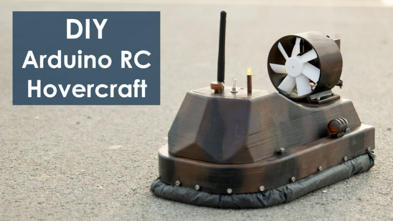 DIY Arduino based RC Hovercraft Project