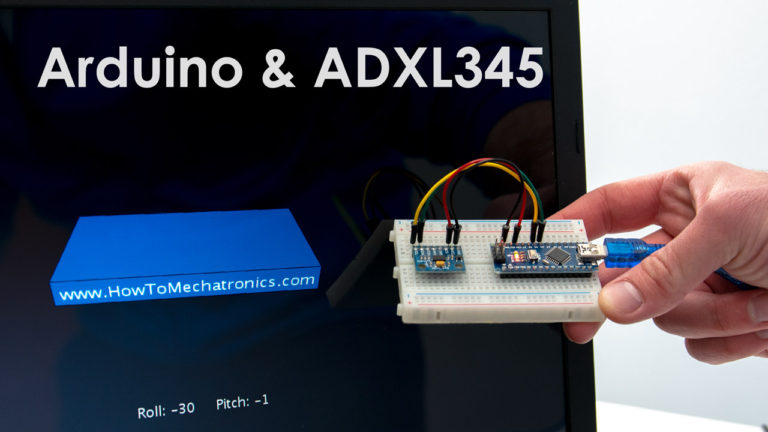 How To Track Orientation with Arduino and ADXL345 Accelerometer Tutorial