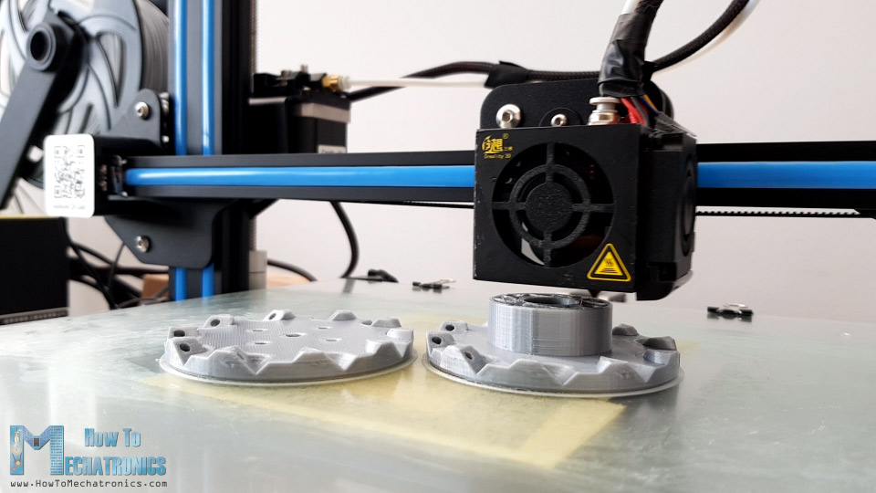 3D Printing the Mecanum Wheels