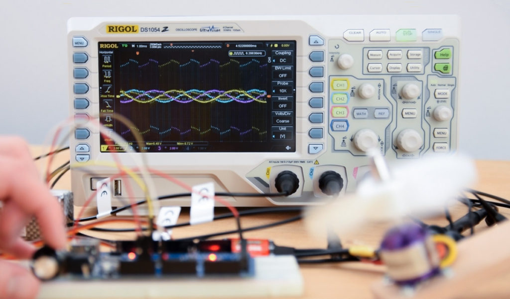 Best Entry Level Oscilloscopes for Beginners and Hobbyists 2019
