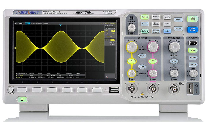Siglent SDS1202X-E - Best Inexpensive Oscilloscope Comparison